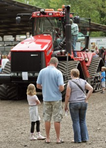 CERES - 13th June 2010  Families enjoy Open Farm Sunday at College Farm, Duxford, Cambridgeshire.  Pic - Richard Marsham  RMG Photography 23 Millfield Littleport ELY Cambridgeshire CB6 1HN Tel : 07798 758711